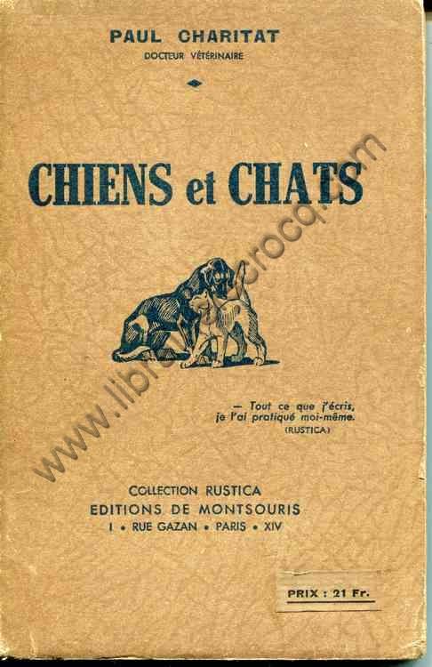 CHARITAT Paul, Chiens et chats
