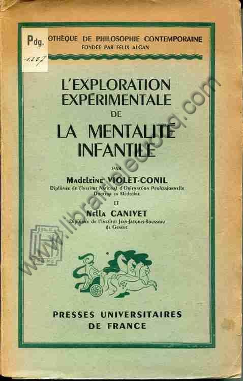 VIOLET-CONIL (Madeleine) - CANIVET Nella, L'explorat...