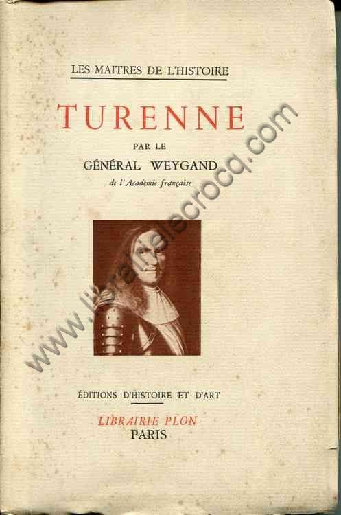 WEYGAND Général, Turenne