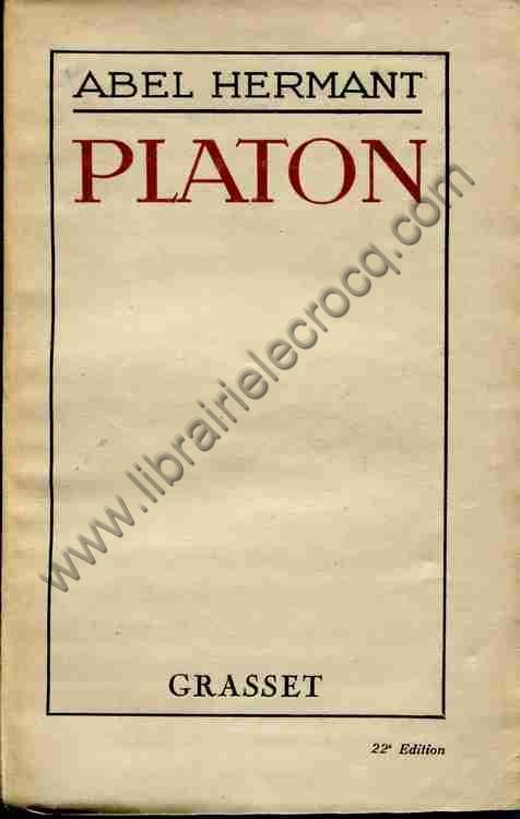 HERMANT Abel Platon