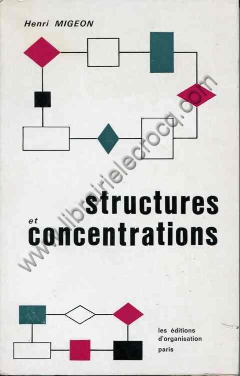 MIGEON Henri, Structures et concentrations - Le mond...