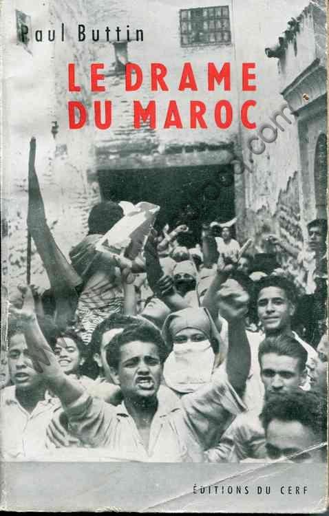 BUTTIN Paul, Le drame du Maroc