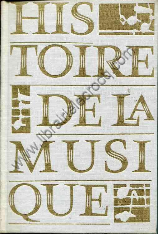 HOFMANN Michel-R., Histoire de la musique des origin...