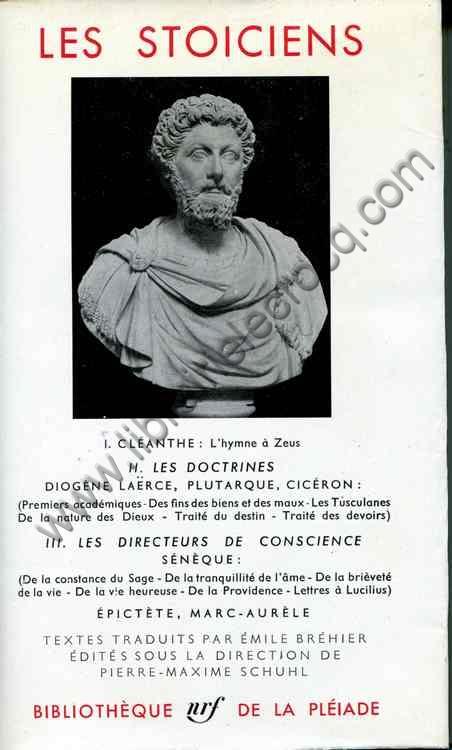 LES STOICIENS  I CLEANTHE  L'hymne a Zeus-II LES DOC...
