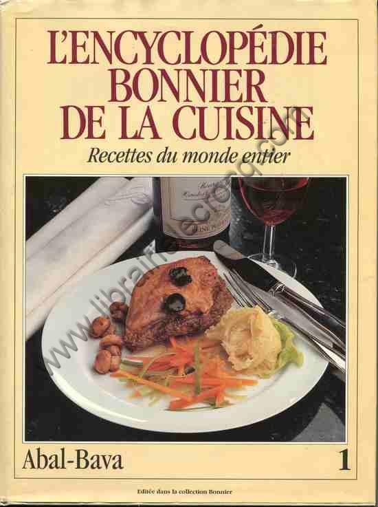 NIELSEN Marie-May, L'encyclopédie Bonnier de la cui...