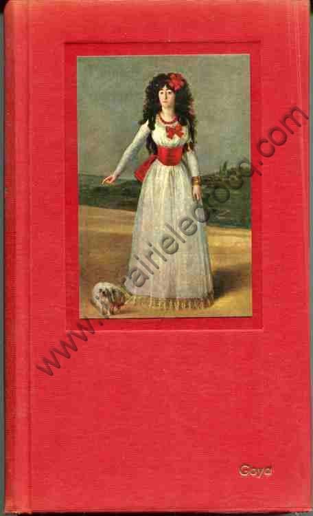 D'ORS Eugenio, Goya . Version française de Marcel C...