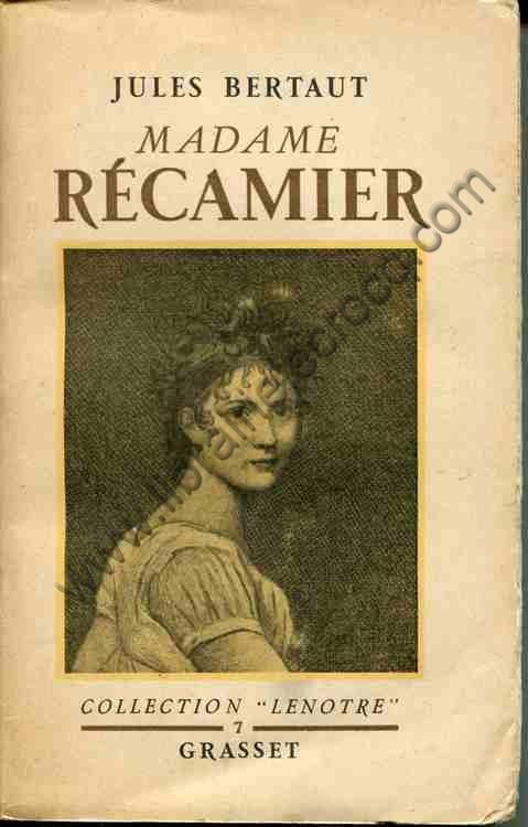 BERTAUT Jules, Madame Récamier