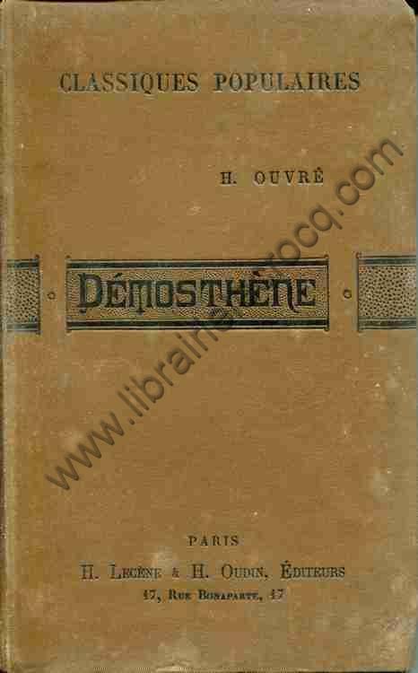 OUVRE H., Démosthène