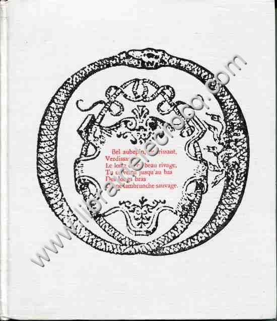RONSARD Pierre de Oeuvres choisies  Texte etabli et ...