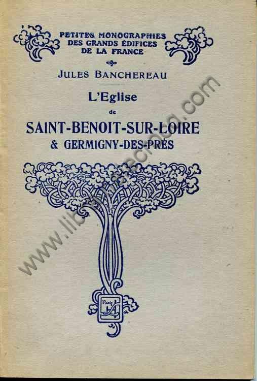 BANCHEREAU Jules, L'église de Saint-Benoit-sur-Loir...