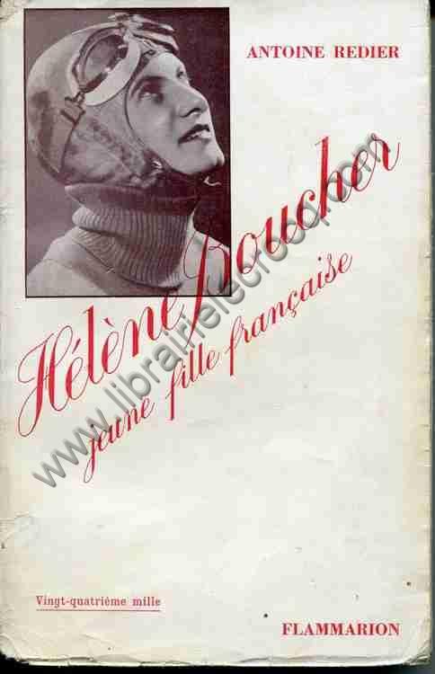 REDIER Antoine, Hélène Boucher jeune fille française