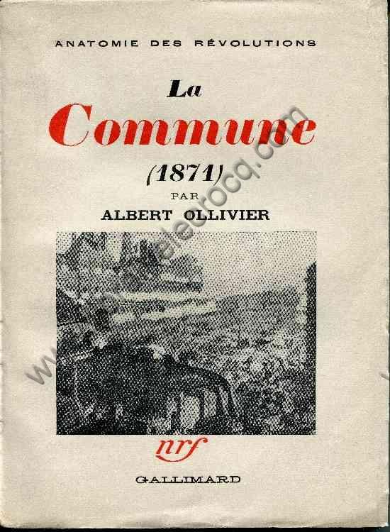 OLLIVIER Albert, La Commune (1871)