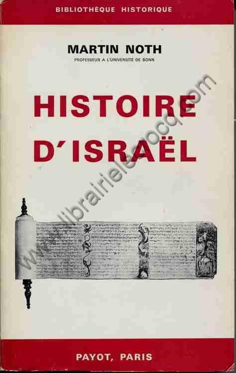 NOTH Martin Histoire d'Israël