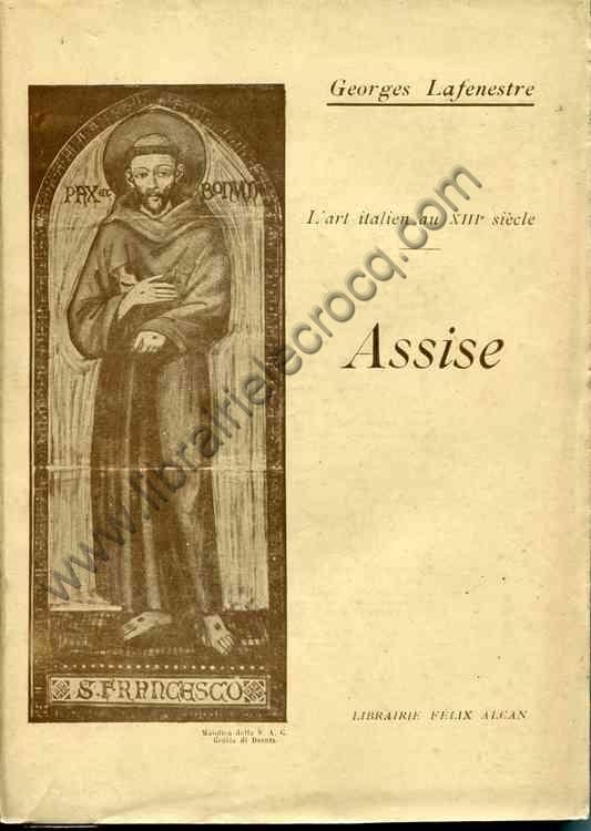 LAFENESTRE Georges, L'art italien au XIIIème siècl...