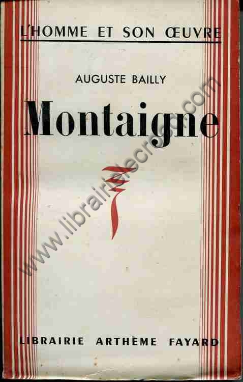 BAILLY Auguste Montaigne